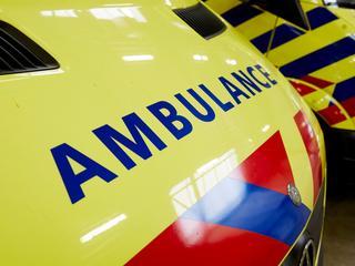 Het ongeluk gebeurde net voorbij de Paleisstraat in Amsterdam