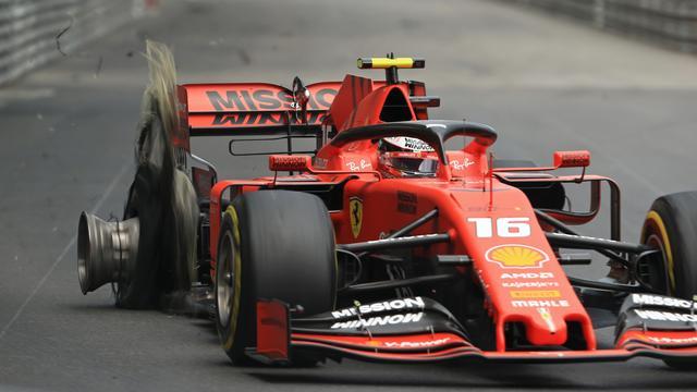 Hülkenberg vindt dat Leclerc 'te agressief en gefrustreerd' reed in Monaco
