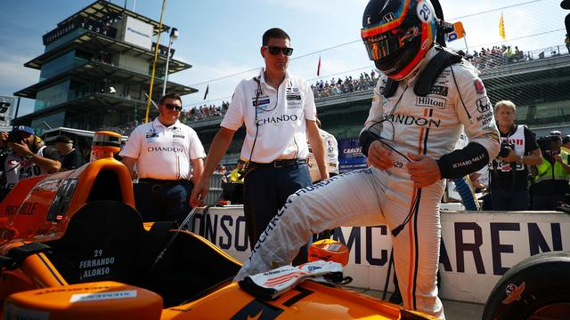 Alonso bij de Indy 500
