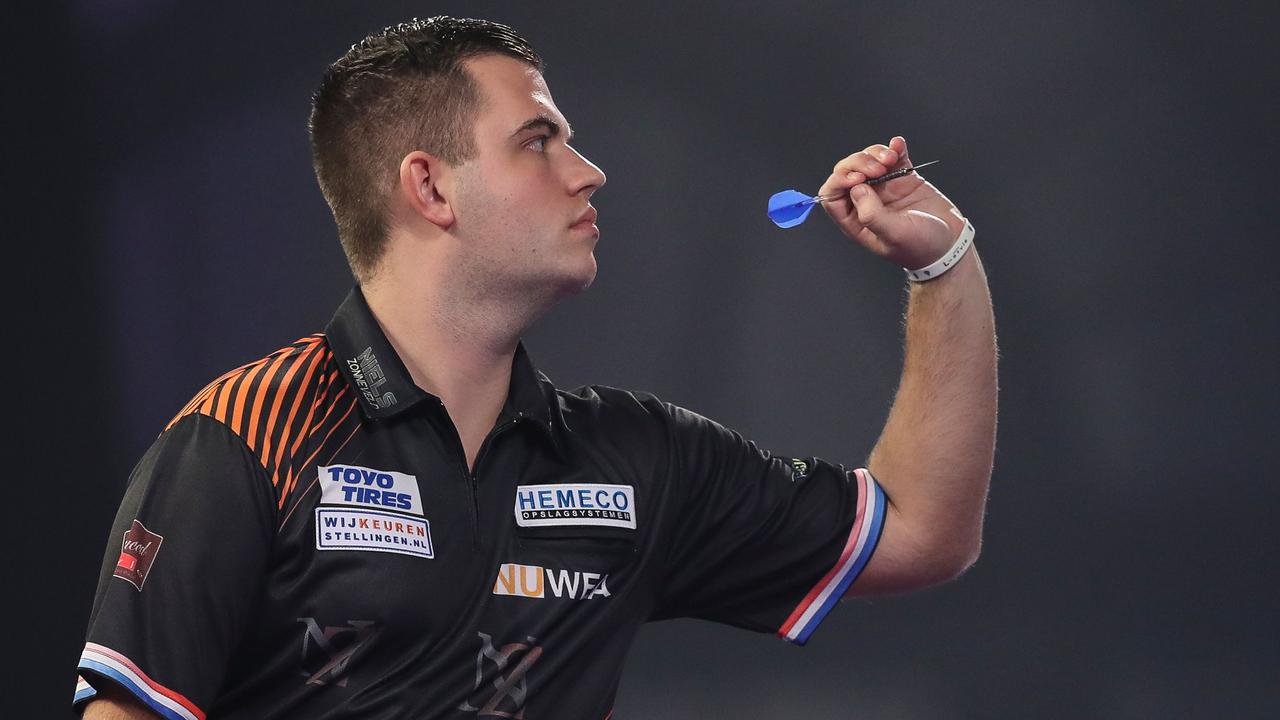 Debutant Zonneveld onderuit in eerste ronde WK darts en verliest Tourkaart - NU.nl