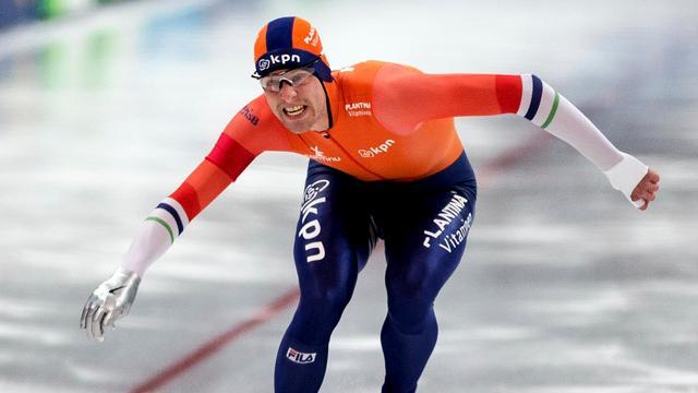 Ronald Mulder net naast podium op 500 meter bij World Cup Calgary