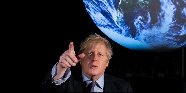 Boris Johnson oogt op een toekomst van wereldformaat