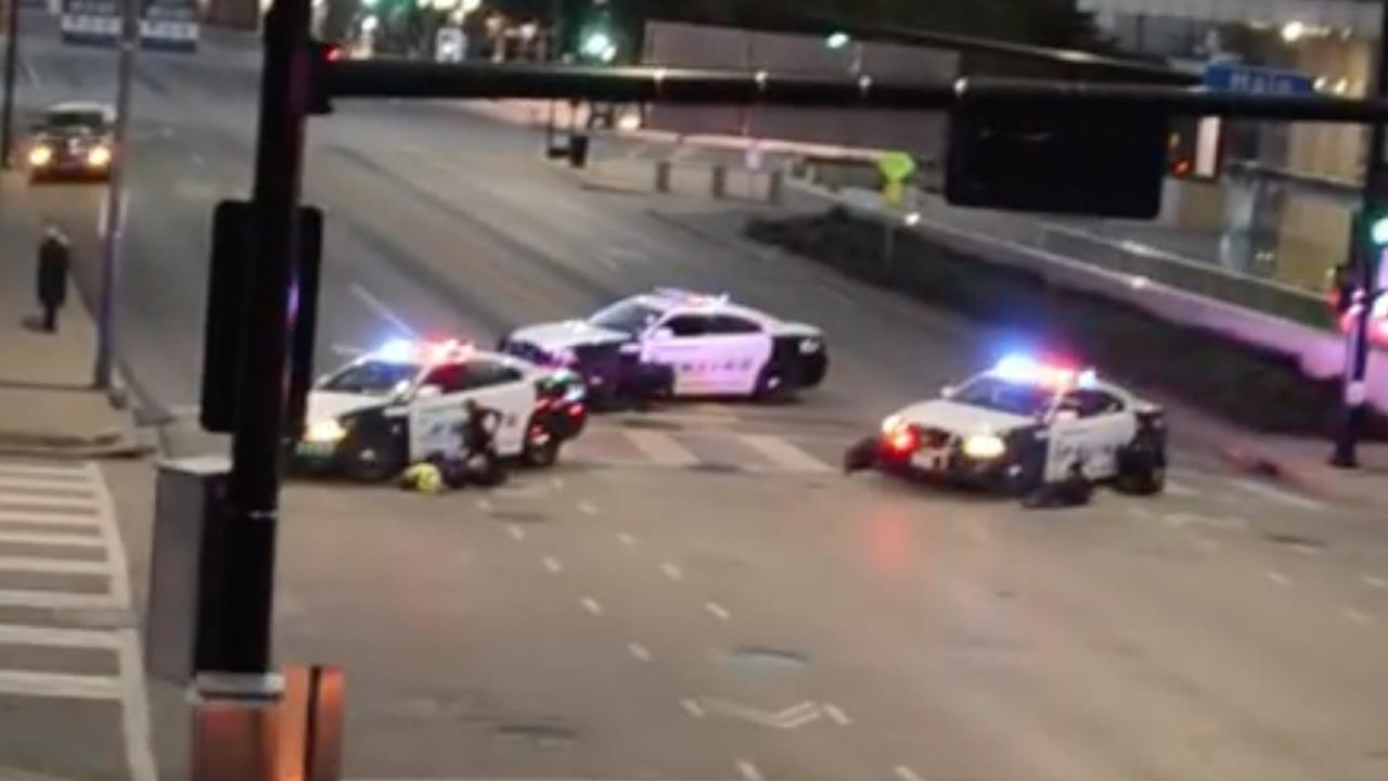 Chaos tijdens schietpartij bij protest politiegeweld Dallas
