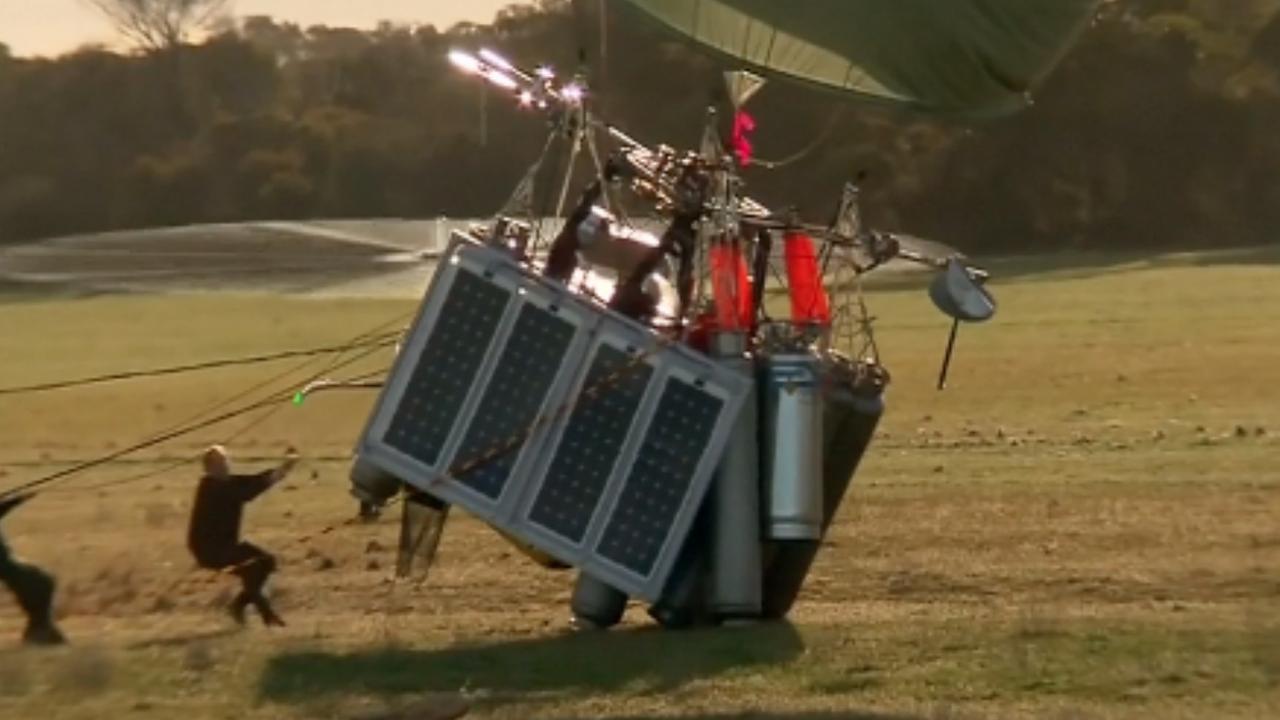 Rus claimt record solo ballonvlucht rond de wereld
