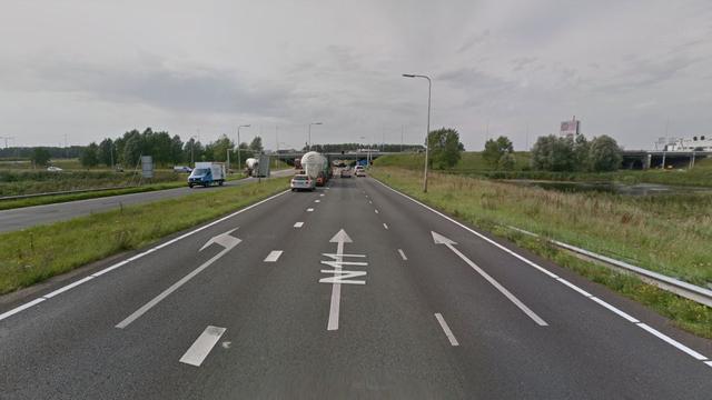 'Twee gewonden door ongeluk bij N11 in Leiden'