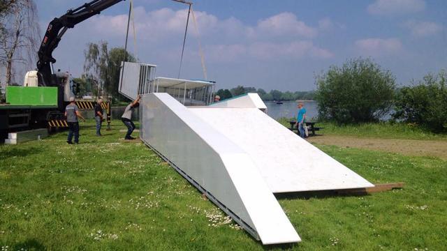 Nieuw obstakel voor waterskibaan van Wet 'n Wild