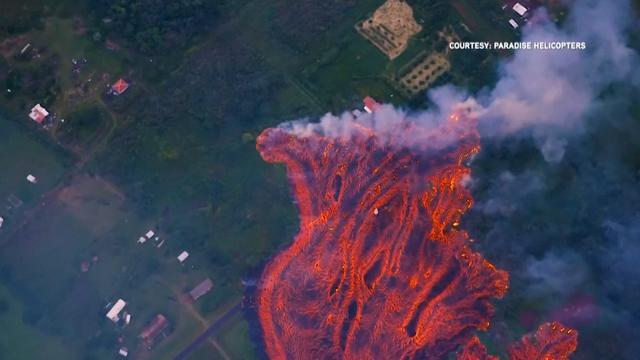 Lavastroom dreigt oceaan te bereiken op Hawaï