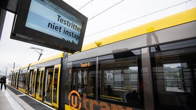 Trams rijden weer op Uithoflijn na storing