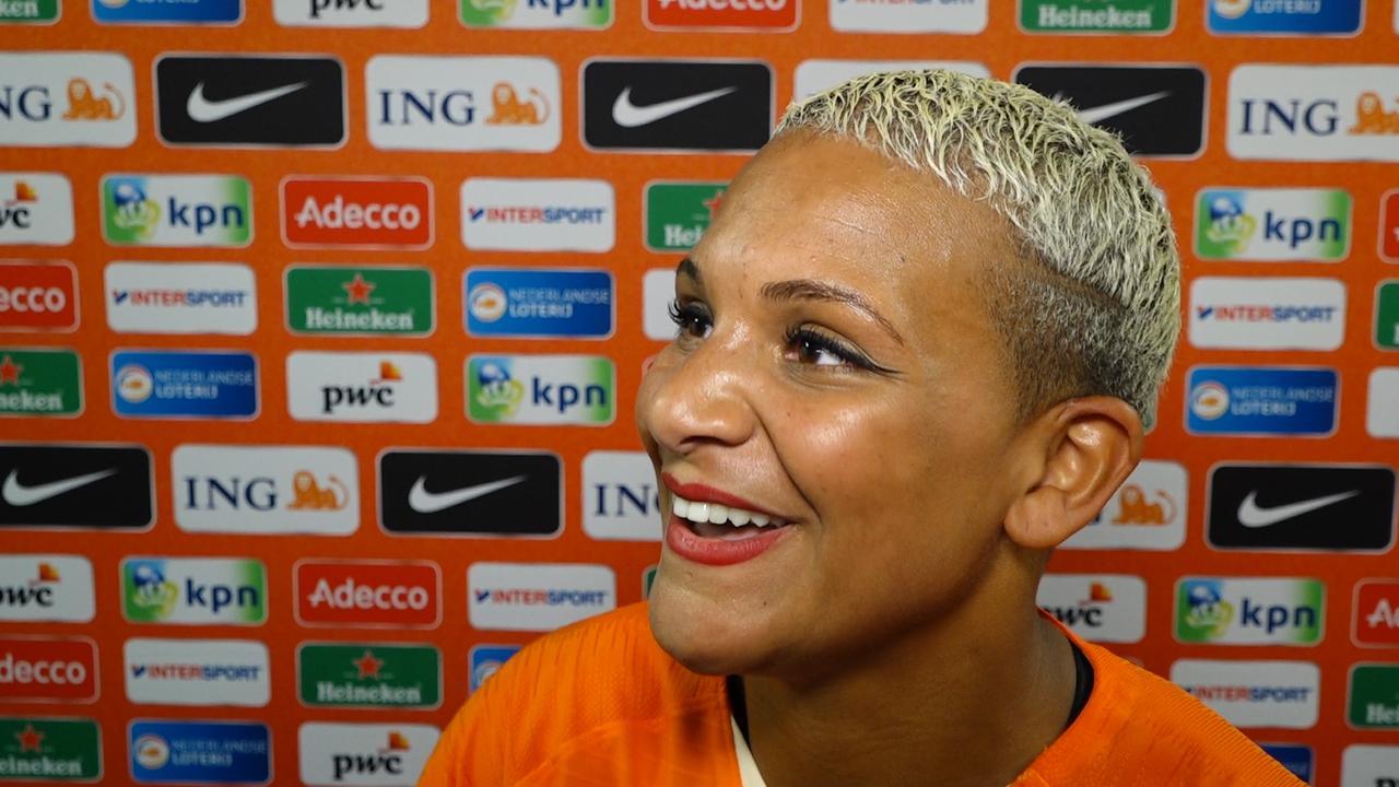 Smaakmaker Van de Sanden geniet van spel Oranje