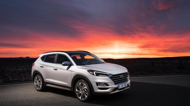 Update voor vierde modeljaar Hyundai Tucson
