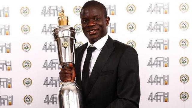 Chelsea-middenvelder Kanté speler van het jaar in Engeland