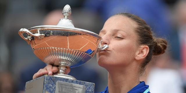 Bertens blijft vierde op wereldranglijst door toernooizege Plísková
