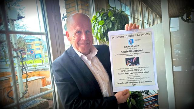 Piet Versteeg doet mee aan Alpe D'HuZes voor KWF Kankerbestrijding