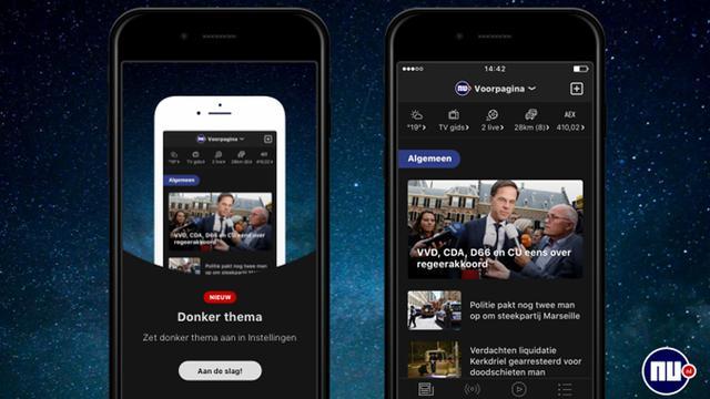 NU.nl lanceert nachtmodus in apps