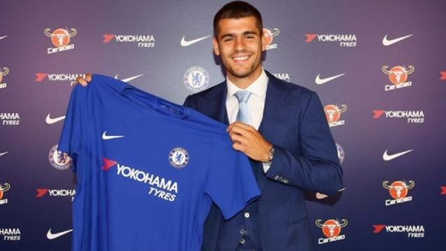 Chelsea legt Morata voor vijf seizoenen vast