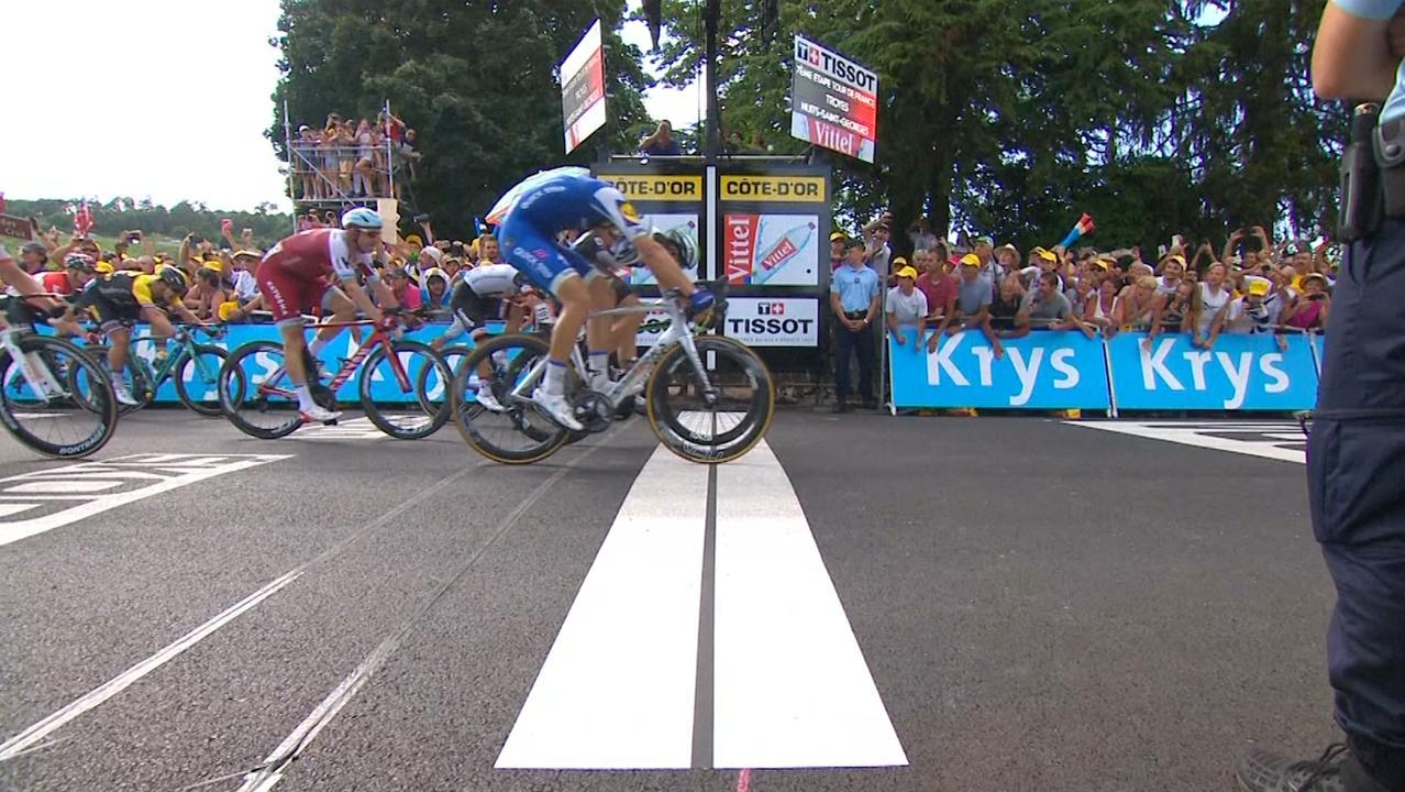 Samenvatting Tour: Kittel wint zevende etappe na fotofinish