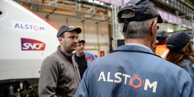 'Franse overheid steunt fusie treinenbouwer Alstom en spoortak Siemens'