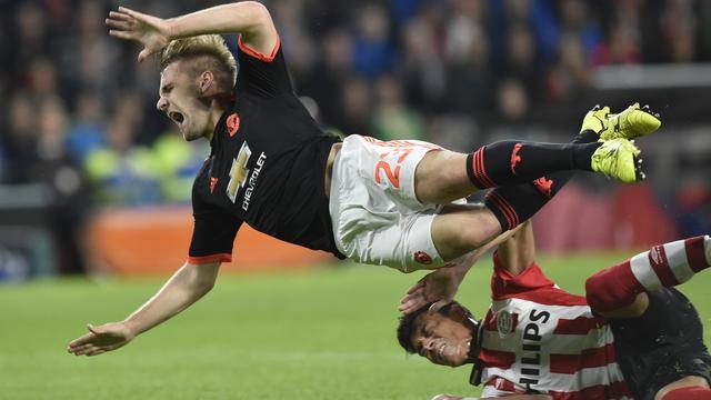Shaw verlaat ziekenhuis in Geldrop en keert terug naar Manchester