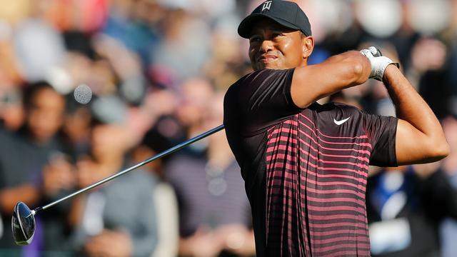 Tiger Woods gematigd tevreden met rentree op PGA Tour