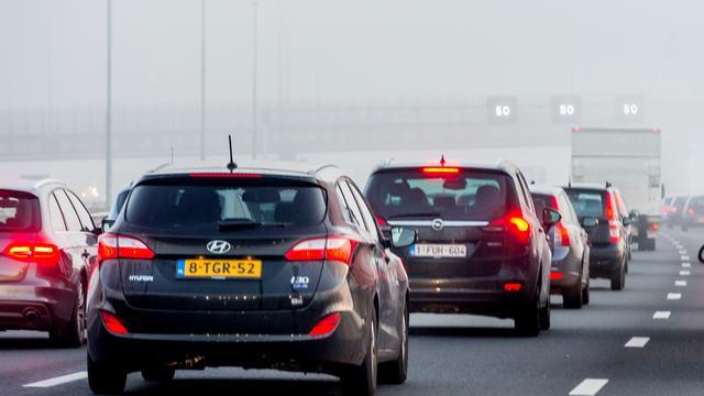 Verkeershinder richting Antwerpen na ongeval