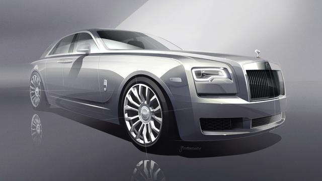 Rolls-Royce bouwt 35 exemplaren van speciale Ghost-versie