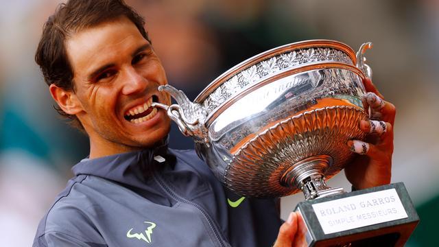 Nadal verovert historische twaalfde titel op Roland Garros