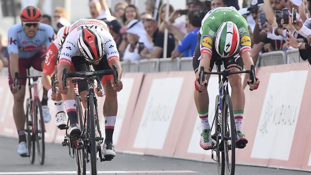 Gaviria boekt derde zege van seizoen in tweede etappe Ronde van de VAE