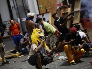 Demonstranten eisen al weken aftreden van president Ortega