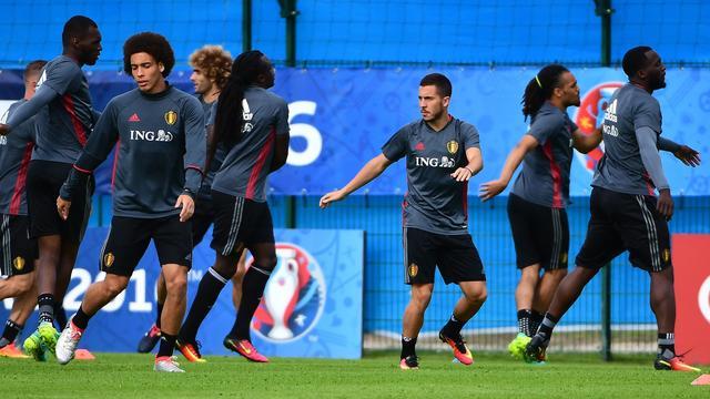 Hazard verlaat training België uit voorzorg vroegtijdig