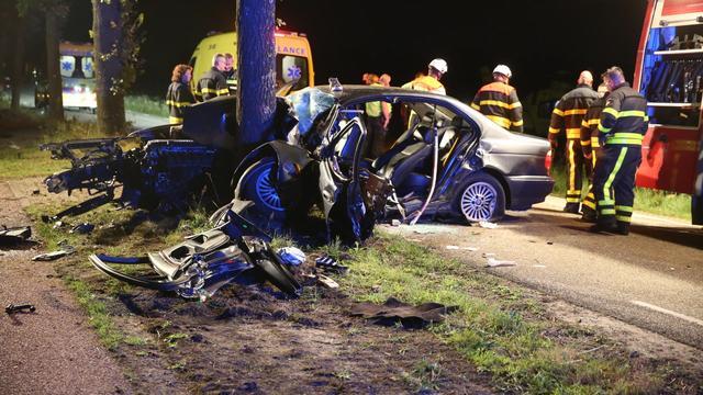 Man zit urenlang vast in auto na zwaar ongeval in Heerle