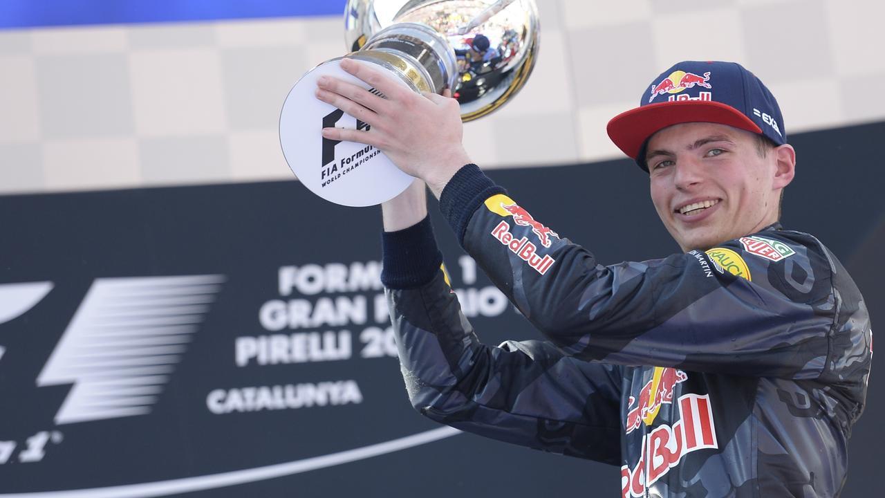 """Verstappen jongste F1-winnaar ooit: """"Ik kan het nog niet geloven"""""""