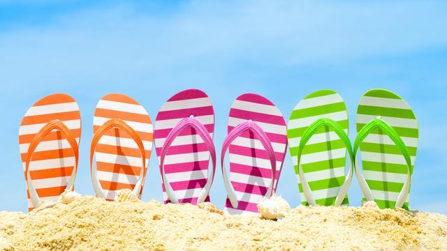 Hoe (on)gezond is het om de hele zomer op slippers te lopen?