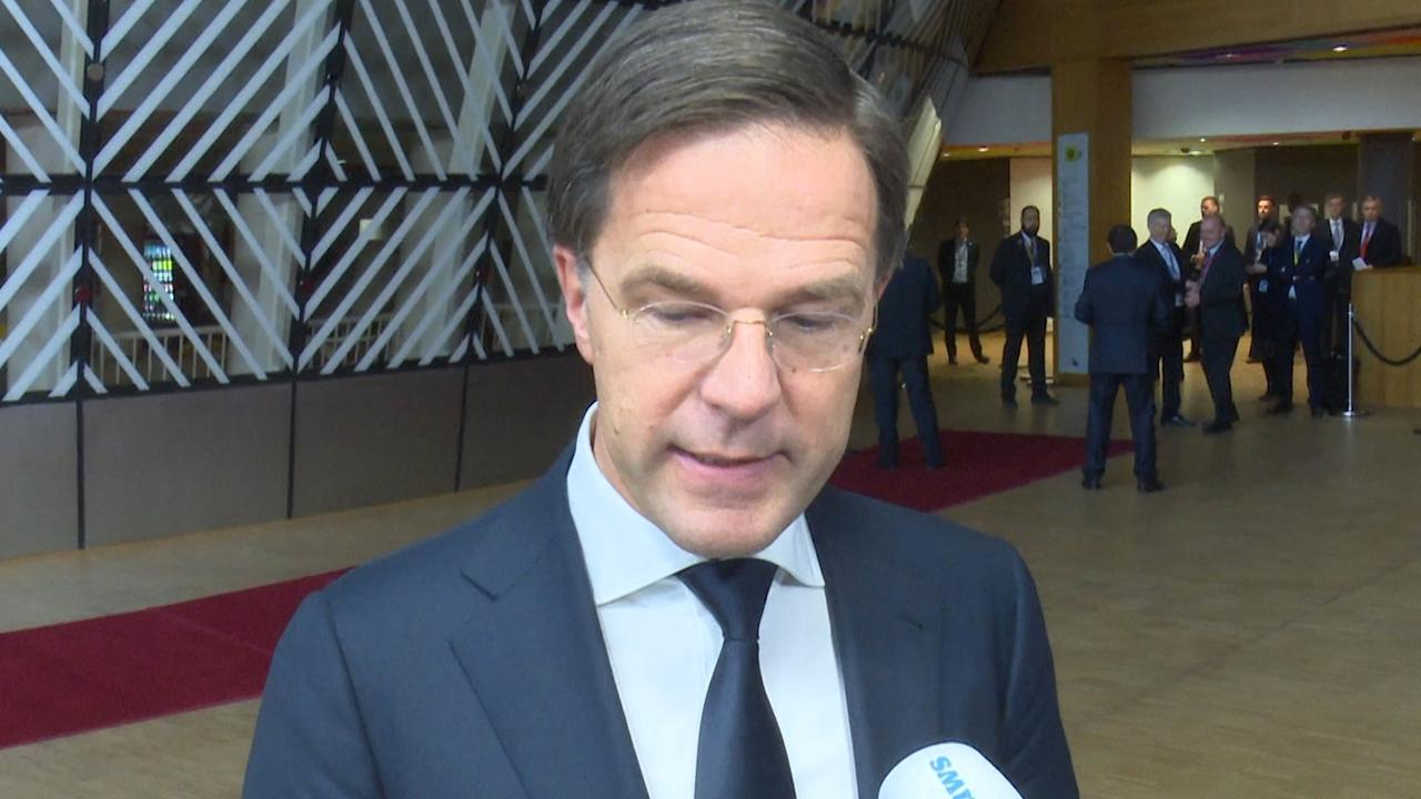 Rutte: 'We kunnen niet de onderhandelingen opnieuw starten'