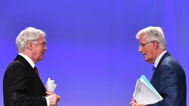 Partijen die onderhandelen over Brexit botsen over voortgang gesprekken