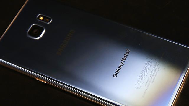 Aandeel Samsung flink omlaag