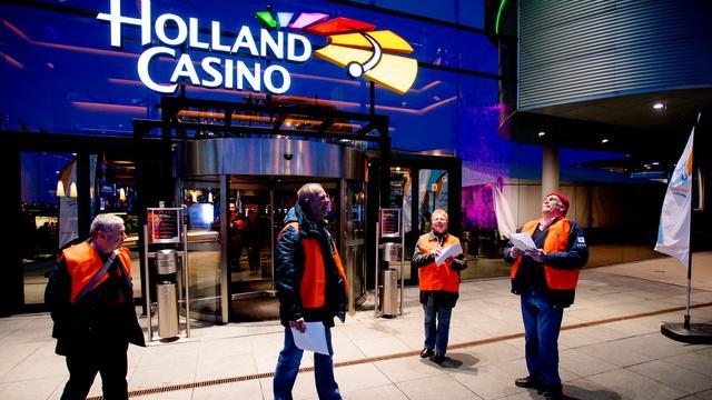 Volgens bonden geen actie Holland Casino gepland