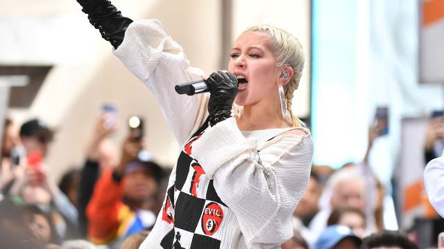 Christina Aguilera geeft na dertien jaar weer concert in Nederland