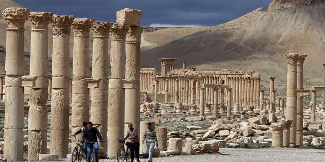 Tempel in Syrische stad Palmyra 'nog overeind'