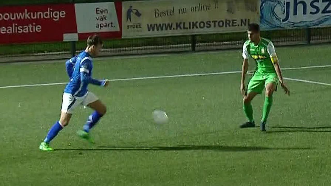 Samenvatting GVVV–FC Dordrecht (1-0)