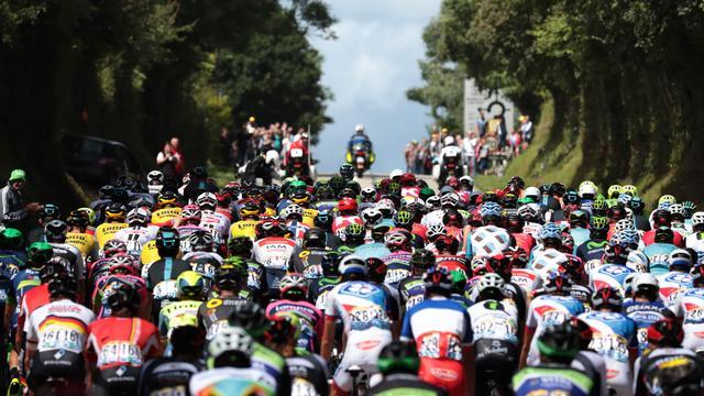 Parcours tweede Touretappe: Lastige klim in laatste kilometers