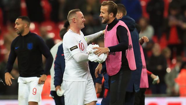 Afzwaaiende Rooney weet zeker dat Kane zijn doelpuntenrecord verbreekt