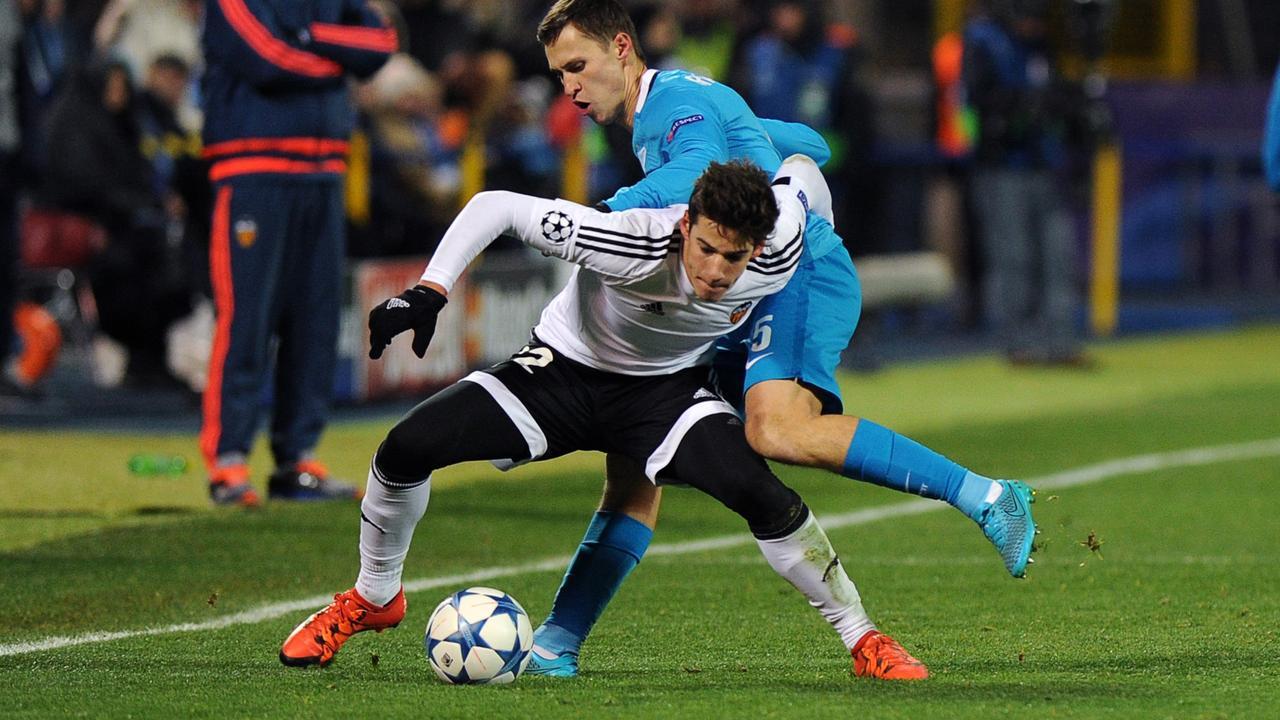 Zenit Sint Petersburg-Valencia (2-0)