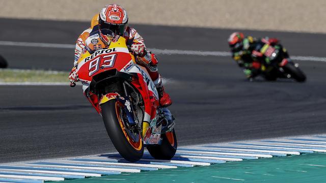 Marquez wint MotoGP-race in Spanje en ziet concurrentie vallen