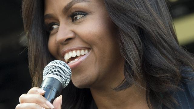 Michelle Obama geeft laatste speech als First Lady