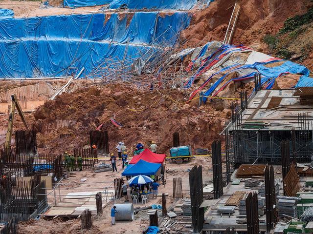 Doden en vermisten na aardverschuiving in Maleisië