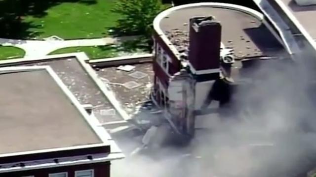 Twee doden door gasexplosie op school in Minneapolis