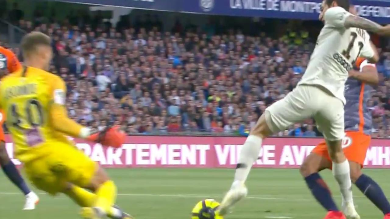 Di María scoort na fraaie pirouette tegen Montpellier