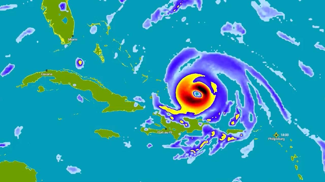 Live: Orkaan Irma raast over Sint Maarten