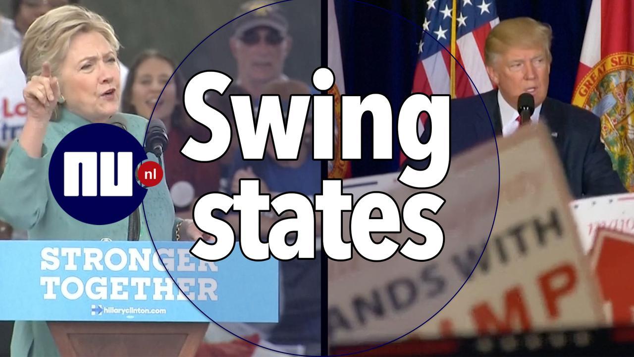 Wat zijn 'swing states' en waarom zijn ze belangrijk?
