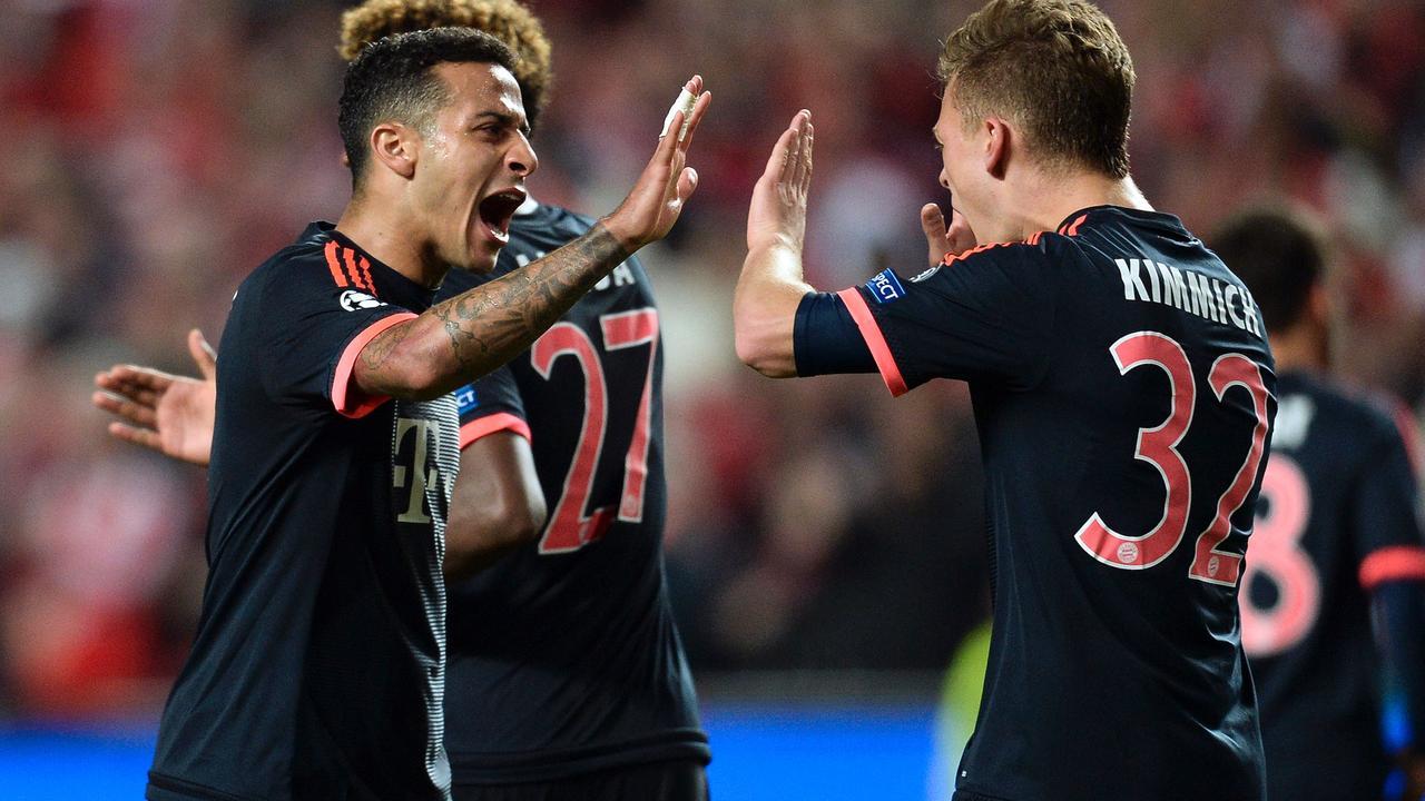 Benfica-Bayern München (2-2)